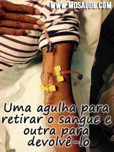 Agulha-hemodialise