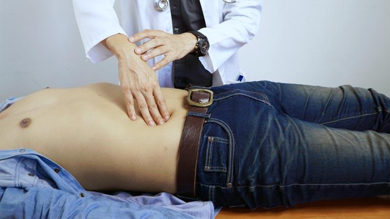molestias en la ingle abdominal inferior derecha