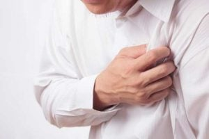 Sintomas do infarto agudo do miocárdio