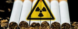 CIgarro radiação