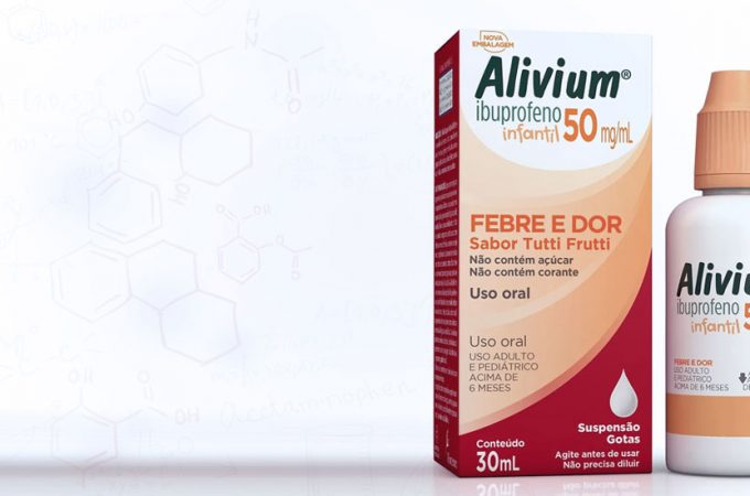 Ibuprofeno - Alivium gotas - bula