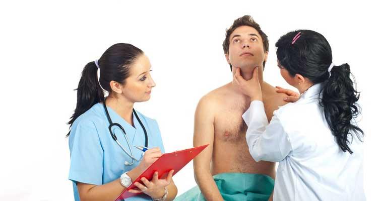 Exame da tireoide