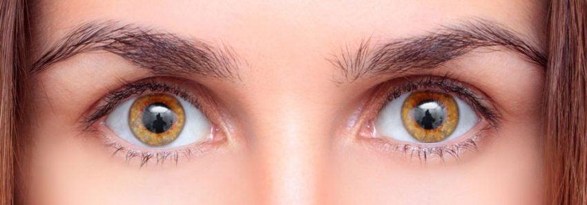 Olhos cor de mel