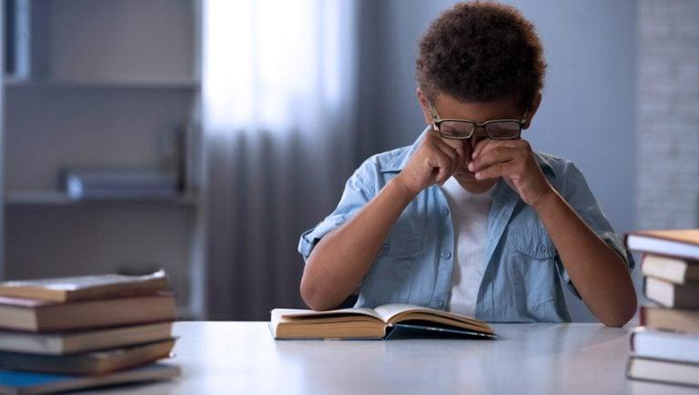 Problemas de visão nas crianças