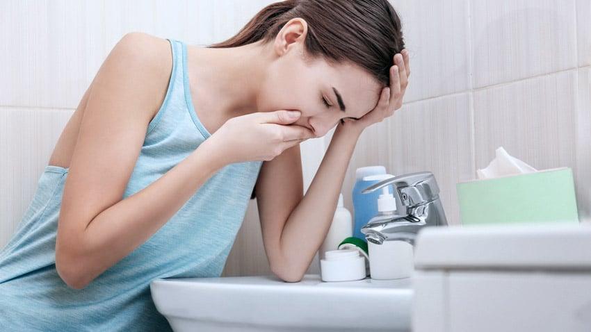 A partir de cuanto se sienten los sintomas de embarazo