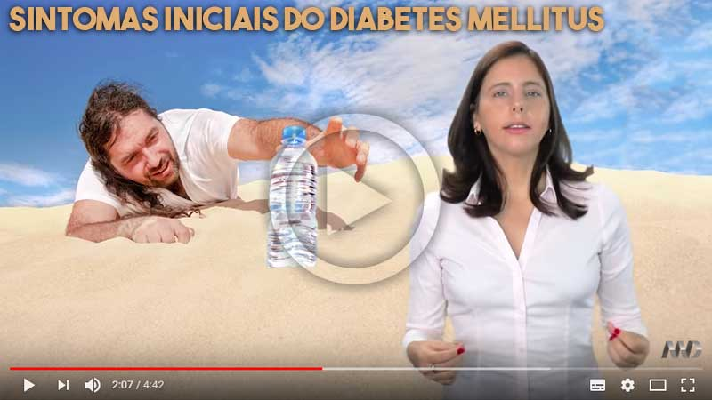 Sintomas Diabetes - Vídeo