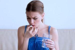 O que fazer quando se vomita após tomar remédio?